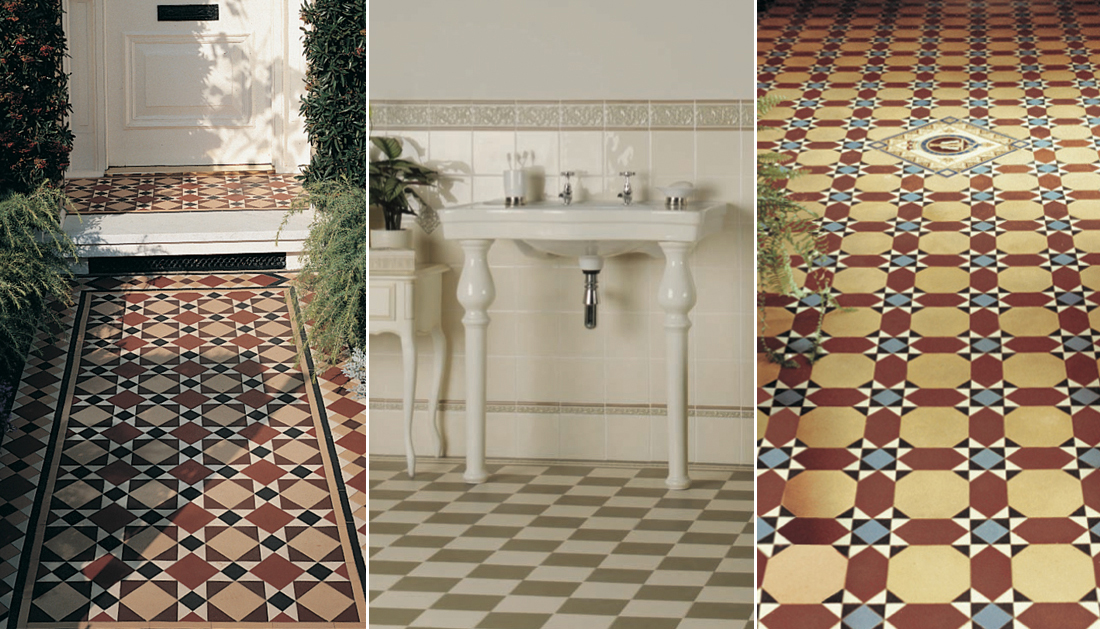 Victorian Tiles For Vintage Victorian And Turn Of The